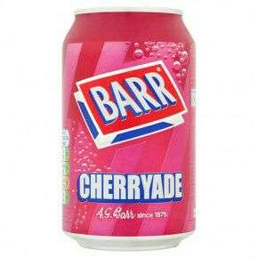 BARR Drink Cans in a Variety of Flavours 4 for £1 @ Poundland