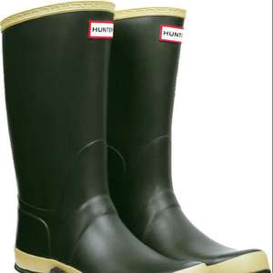 Hunter wellies field men & women £40 instore and online @ Tesco