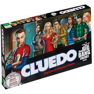 Cluedo - The Big Bang Theory £15.29 with code MERCH10 @ Zavvi