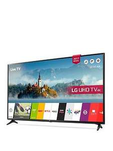LG 49UJ630V 49 inch, 4K Ultra HD HDR, Freeview Play, Smart, LED TV £359.99 @ Very