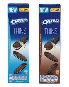 Oreo Thins (96g) - original and Chocolate Reduced to 50p @ Morrisons