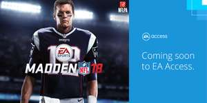 Madden 18 now in The Vault to download @ EA Access