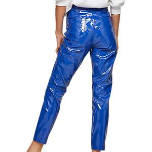 Miss Selfridge Steffi Vinyl Trousers VERY Bright Blue > All sizes back in Stock! £6 @ John Lewis (Free C&C)
