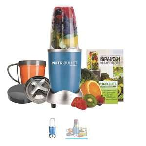Nutribullet 600 blender/juicer blue from Tesco (8 piece set) - click and collect £39 @ Tesco