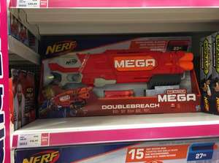 Nerf Double breach mega shotgun - £16.49 @ The Entertainer