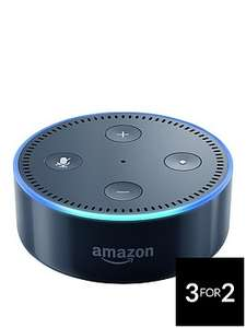 3 for 2 on selected items,eg 3 amazon echo dot for £99.98 @ very