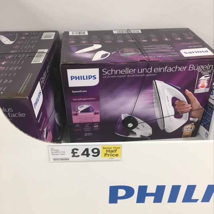 Philips steam generator iron gc6612/30 £49 instore/online @ Tesco