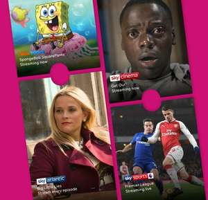 Now tv Entertainment pass £1.39 Movies £1.99 a month retention offer, existing users.