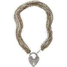Fossil multi chain padlock necklace was £65,then £19.99 with code £17.61. @ watches2u,free delivery