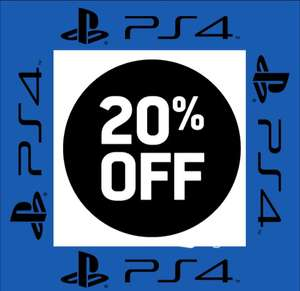 20% OFF total cart purchase at US and Canada PlayStation PSN Store - Check email for code