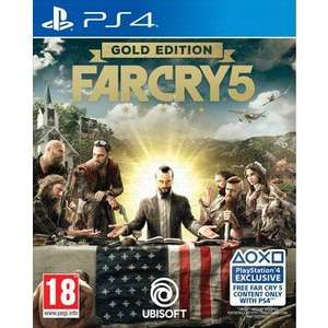 Pre-Order Far Cry 5 Gold Edition (XO also) for £54.99 when you C+C @ Smyths