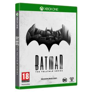 XBOX one Batman-  The Telltale Series 18+ for £10 C+C (stock low for C+C /+ £2.99 Home Del) @ Smythstoys.com
