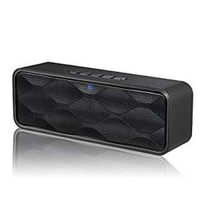 29453ee5762 ZoeeTree S1 Wireless Bluetooth Speaker with fm radio £12.59 prime / £16.58  non prime