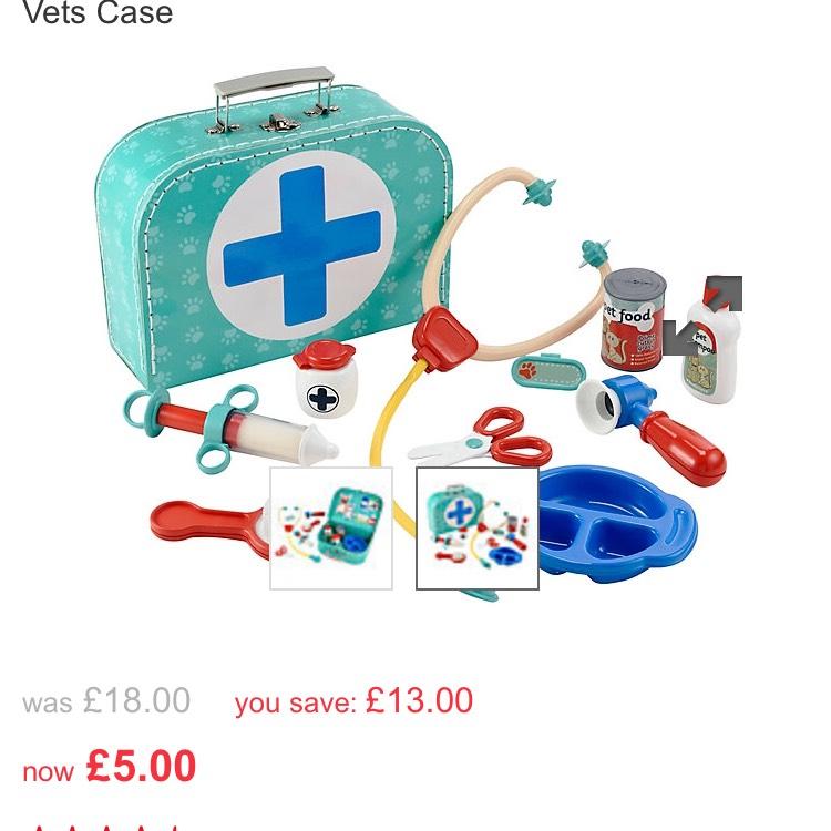 Mothercare-Elc vet case £5 @ Mothercare - Free c&c