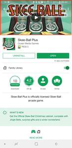 Skee-Ball Plus now FREE was £2.69 (Android Play Store) Classic Arcade Style Game