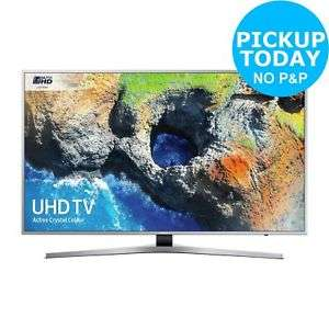 Samsung 55MU6400 55 Inch 4K Ultra HD HDR Freeview Smart WiFi LED TV - £566.10 delivered using code @ Argos eBay