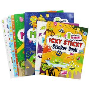 Massive Monster Activity Pack  - £2.50 delivered w/code @ The Works