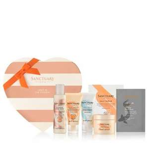 Sanctuary Lost in the Moment Heart collection worth £16 FREE (When you spend £14) - FREE postage option at checkout @ Sanctuary