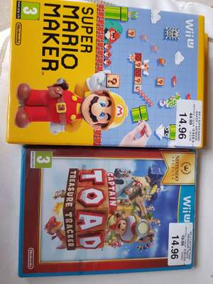 Wii U games on sale 30% off  - £10.50 instore Leicester St George retail Toys r us