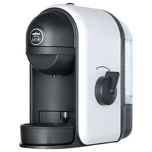 Lavazza A Modo Mio Minù Coffee Maker, White - now £29.95 Includes a trial-size pack of 12 Lavazza capsules + 2 Year Guarantee @ John Lewis