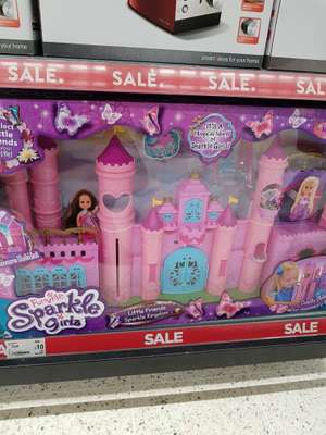 sparkle girls castle £10  Asda Bradford