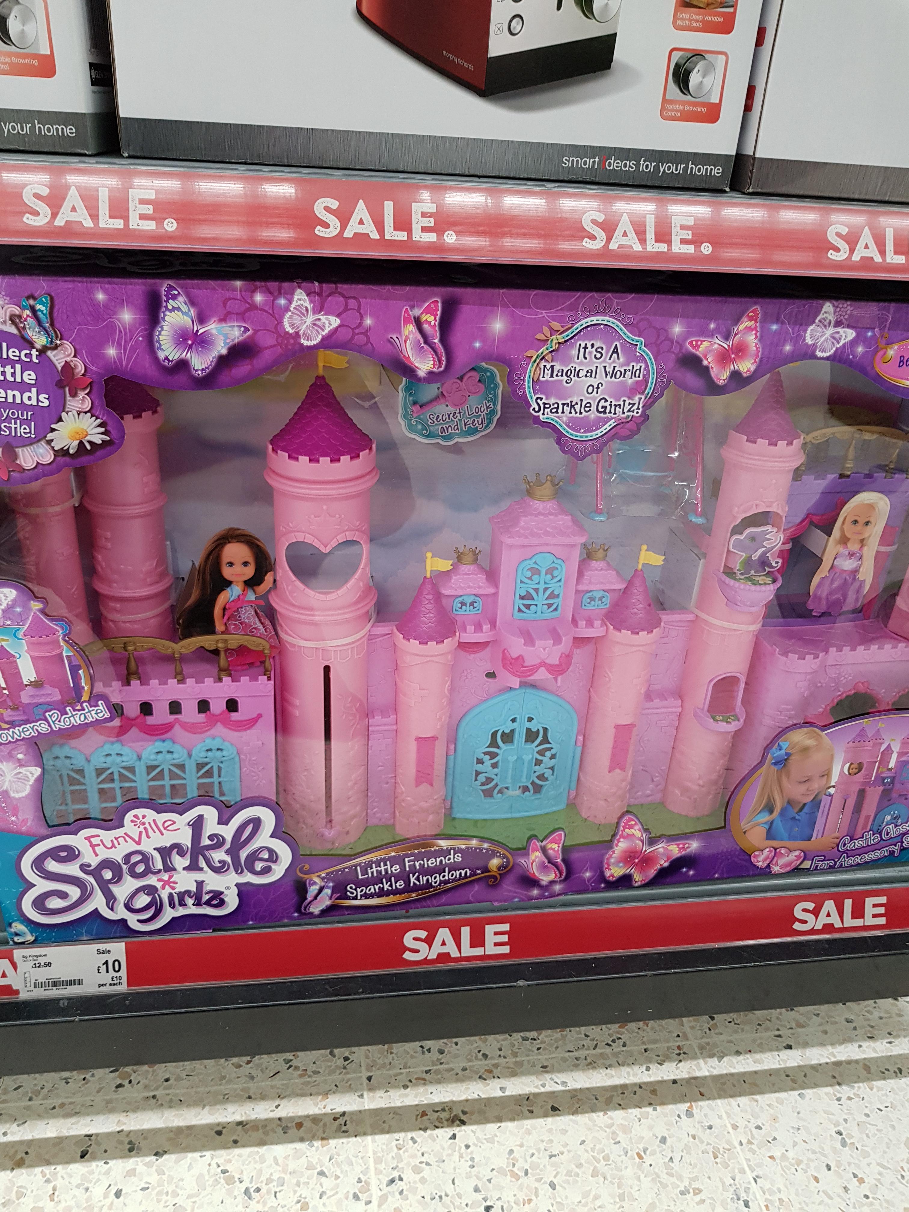 sparkle girls castle £10  Asda Bradford