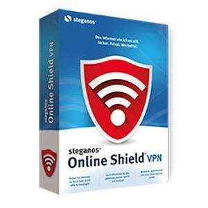 Steganos Online Shield VPN - 1y Licence/2GB traffic 100% FREE