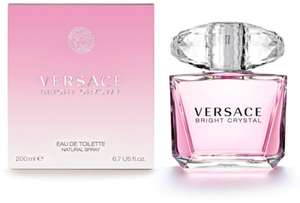 Versace Bright Crystal Eau de Toilette 200ml £46.74 @ The Perfume Shop - 15% Off - Sign Up To Rewards Club