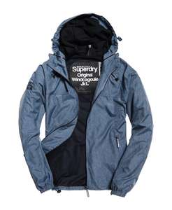 Mens Superdry Dual Zip Through Cagoule Sunkist Blue £23.99 + Free Delivery @ Ebay - Superdry