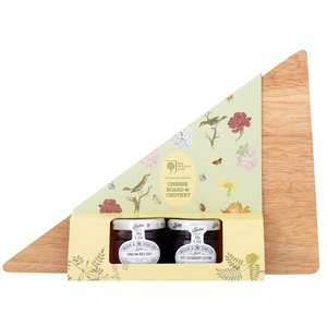 Royal Horticultural Society cheese board and two mini chutneys £1 @ Morrison's online