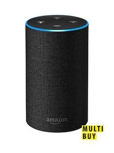 Amazon echo 2nd generation buy two £154.98 get £25 off @ very