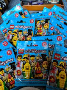 Lego minifigures series 17 now 25p at Tesco in-store Sevenoaks