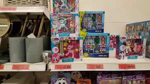 My Little Pony £1.10 and other toys reduced in Sainsbury's Milton Keynes