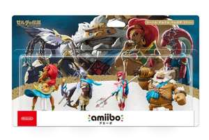 The Champions amiibo Set (Zelda: Breath of the Wild Collection)  £49.99 @ game.co.uk