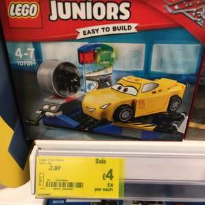 Lego 10731 cars 3 juniors at £4 Asda -  in store
