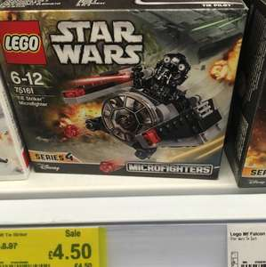 Lego 75161 Star Wars microfighter tie fighter Asda £4.50