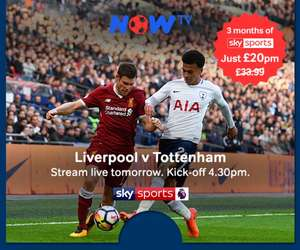 Now TV Sky Sports £20p/m for 3 months - poss account specific