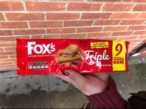 Fox's Triple Biscuits - 3pk's (27 bars) £1 @ Poundland