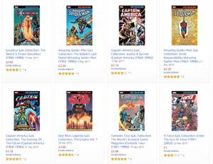 New Marvel Comic Sale @ Amazon - Including Epic Collections for under £2