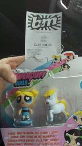 Powerpuff girls twin pack toy £1 @ B&M