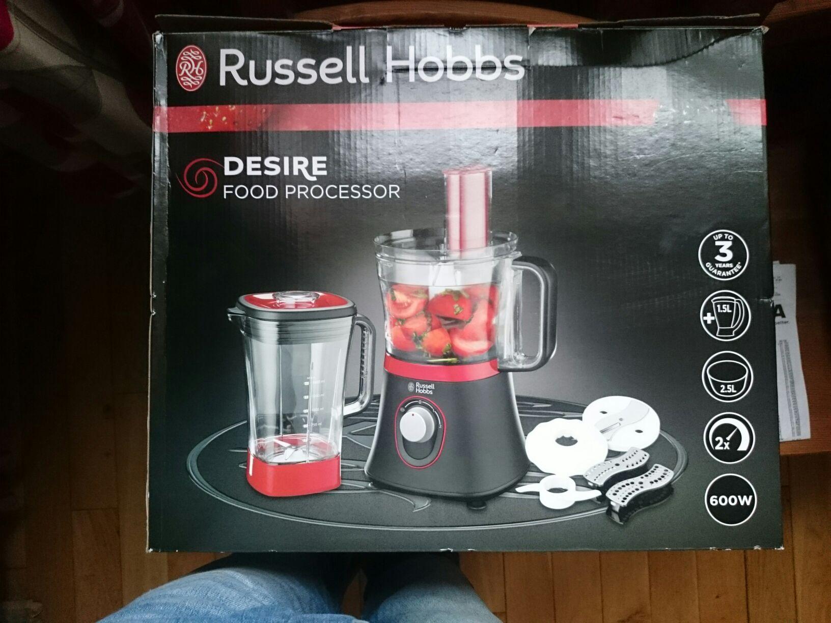 Russell Hobbs Desire food processor 18511 £24.70 @ Asda - Bromsgrove