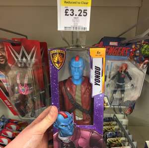 Guardians of the Galaxy figure £3.25 from £13 - Reduced to clear in Tesco, Sale.