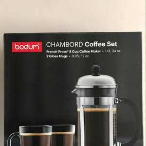 Bodum french press coffee £9.50 @ Tesco - Irlam