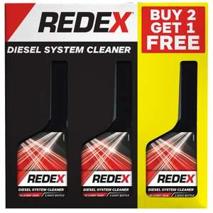 Redex fuel system cleaner £5.99 Three for two deal @ B&M