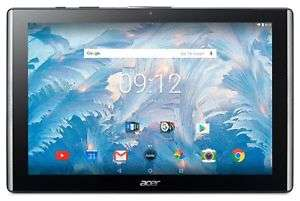 "Acer Iconia One 10"" Tablet 2017 Version - 2GB, 32GB, 1920x1200 Pixels (Refurbished) £98.99 With Code Plus £10 Gift Voucher @ Argos Ebay"