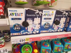 Philips Avent Classic + essentials Set £50 @ Tesco extra Blackpool