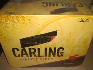 Carling apple cider 20 pack £10.80 @ asda instore westerhope Newcastle upon Tyne