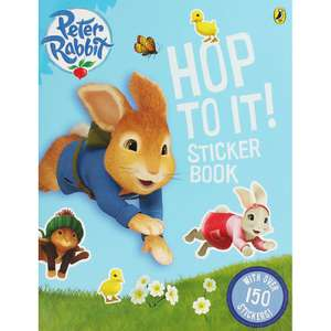Peter Rabbit - Hop To It Sticker Book (with 150 stickers) or Peter Rabbit Sticker Activity Book (with 150 stickers) only £2 each delivered with code WINTERDF @ The Works