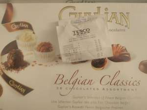 MASSIVE Guylian Chocolate Gift Box 430g - £1.25 instore @ Tesco