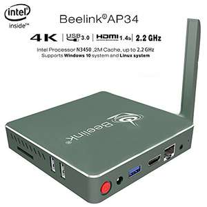 Beelink AP34 Apollo Lake N3450 MINI computer £147.90 Sold by BoLv and Fulfilled by Amazon